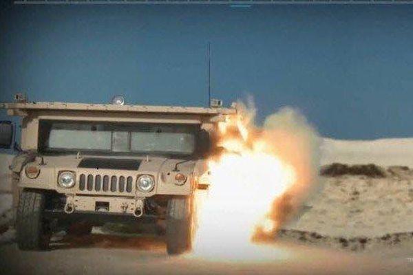 Nóng: Tên lửa Nga 'xé nát' xe bọc thép của Mỹ