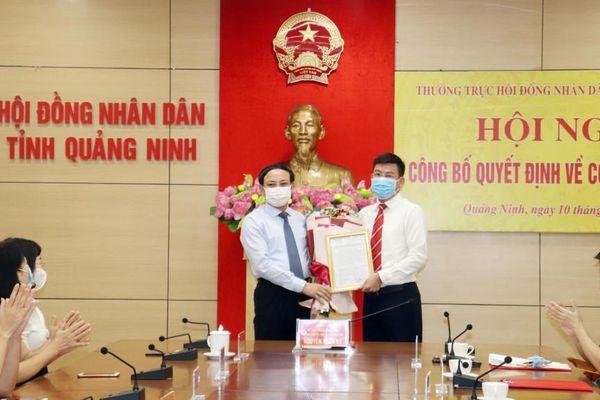 Đồng chí Lục Thành Chung giữ chức vụ Chánh Văn phòng Đoàn ĐBQH và HĐND tỉnh
