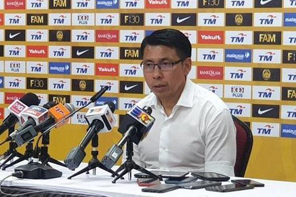 HLV đội tuyển Malaysia muốn thay đổi cục diện bảng G
