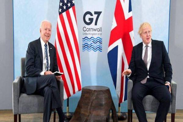 Thủ tướng Anh ví ông Biden như 'làn gió trong lành'