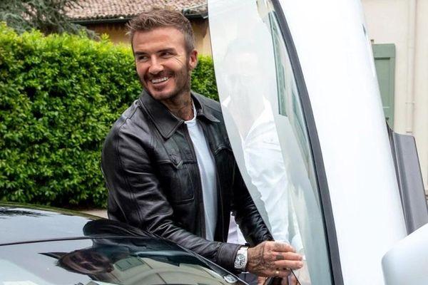 David Beckham cầm lái siêu xe Maserati MC20
