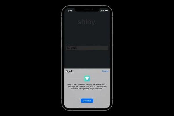 Apple sẽ thay thế đăng nhập mật khẩu truyền thống bằng Passkeys in iCloud Keychain