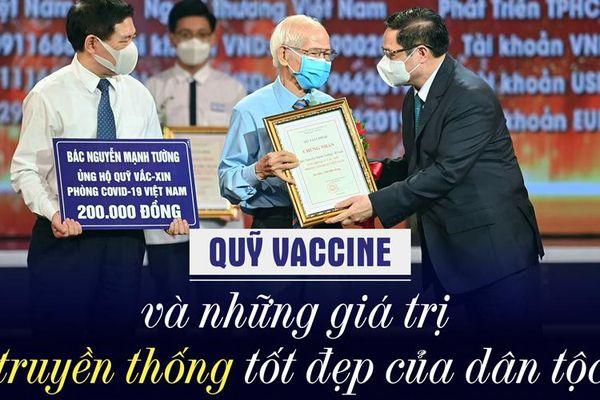 Quỹ Vaccine và những giá trị truyền thống tốt đẹp của dân tộc