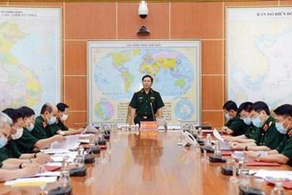 Chuẩn bị chu đáo, toàn diện cho Hội nghị Quân chính toàn quân 6 tháng đầu năm 2021