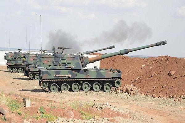 Thổ Nhĩ Kỳ oanh kích dữ dội Quân đội Syria