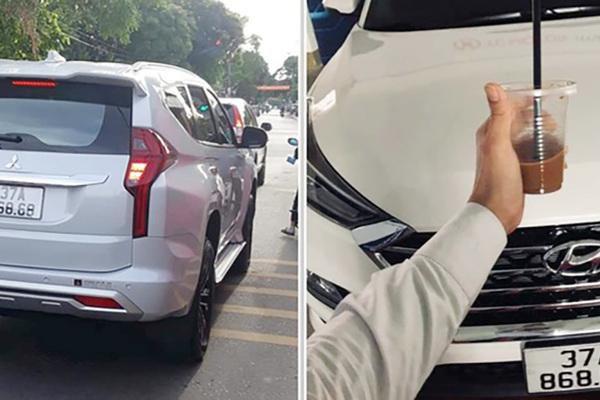 Hai ô tô trùng biển số 868.68 ở Nghệ An: Đều là biển giả