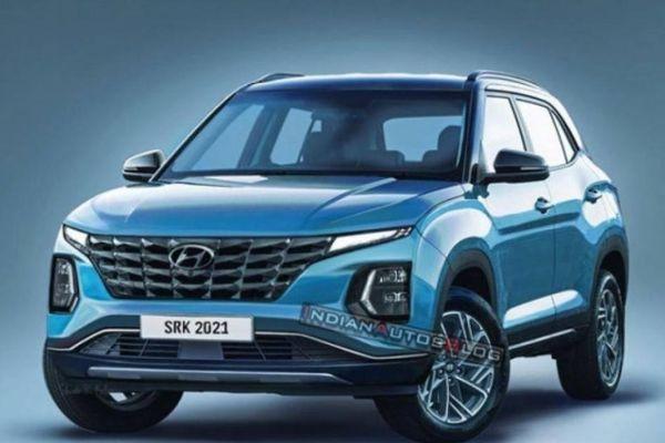 Lộ diện thiết kế Hyundai Creta phiên bản nâng cấp