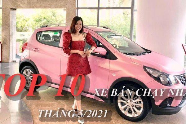 Infographic: TOP 10 ô tô bán chạy nhất Việt Nam