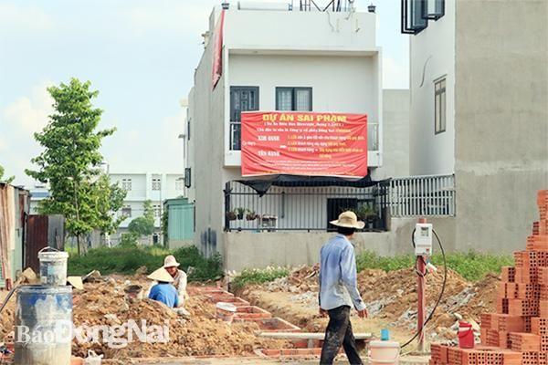 Dự án Khu nhà ở Tân Hạnh - TP.Biên Hòa: Người mua đất mòn mỏi chờ sổ hồng
