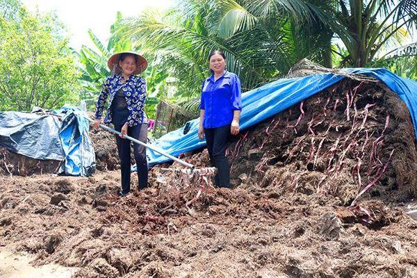 Hội Liên hiệp Phụ nữ xã Tân Hòa đồng hành, giúp hội viên ổn định đời sống