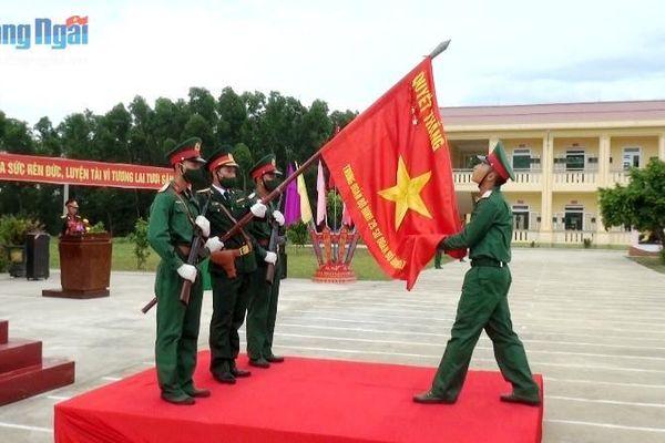 Trung đoàn 29 tổ chức lễ tuyên thệ chiến sĩ mới 2021