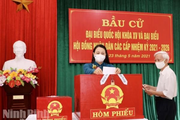 Danh sách 6 người trúng cử đại biểu Quốc hội tại Ninh Bình