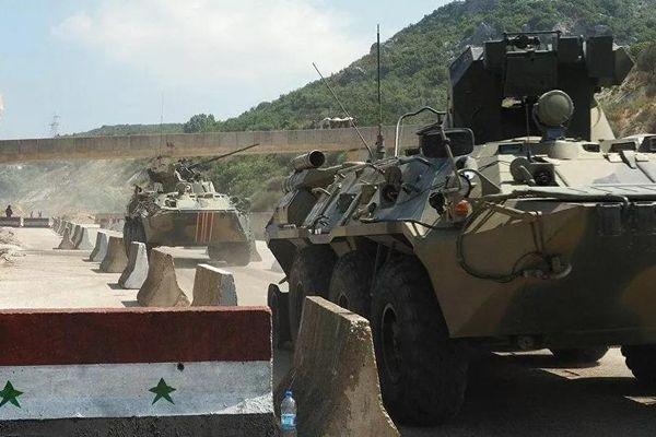 Các nhóm khủng bố chuyển xe bọc thép đến Idlib của Syria