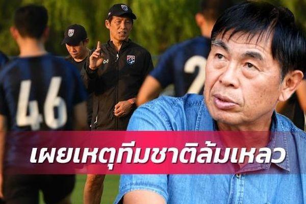 'Bóng đá Thái Lan đang chèo thuyền trong bồn'