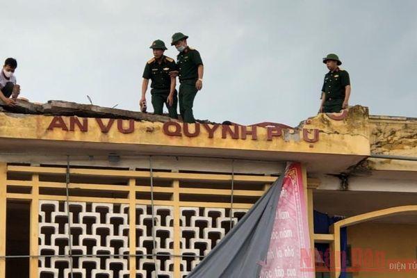 Lốc xoáy tại Thái Bình, thiệt hại nhiều tài sản