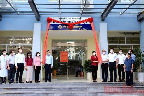 Bắc Ninh tiếp nhận và đưa vào sử dụng Trung tâm Hồi sức tích cực ICU quy mô 100 giường
