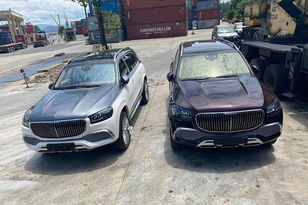 'Đập thùng' cặp đôi Mercedes-Maybach GLS 600 hơn 30 tỷ ở Hà Nội