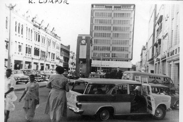 Khung cảnh tráng lệ ở thủ đô Malaysia năm 1961-1962