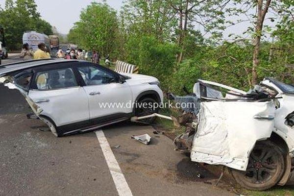 Sự thật về chiếc Kia Seltos tai nạn bị tách đôi tại Ấn Độ