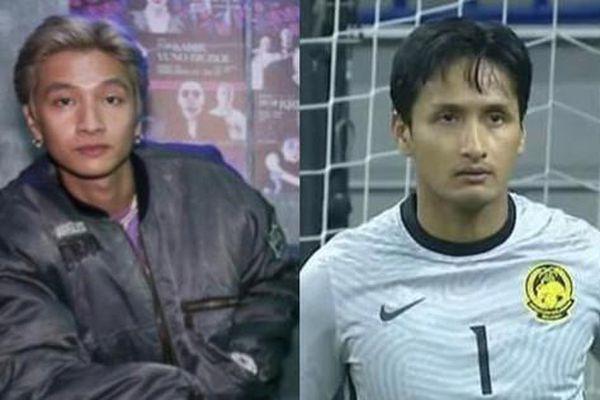 Dân mạng 'tròn mắt' khó tin vì thủ môn Malaysia giống 'y đúc' ca sĩ hot của Rap Việt