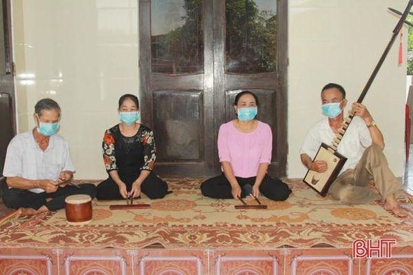 Người dân 'miền đất hát' Hà Tĩnh quyết tâm lưu giữ văn hóa truyền thống