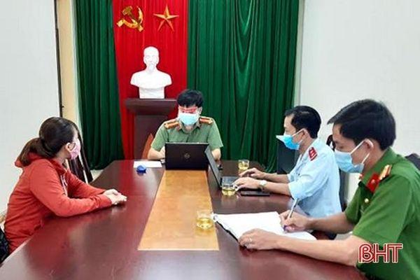 Phạt 5 triệu đồng facebooker đăng tin sai sự thật về khu cách ly ở Tân Lâm Hương