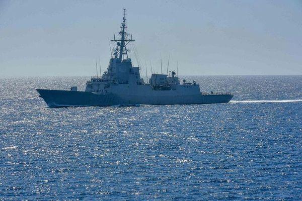 Tàu khu trục USS Laboon của Mỹ được trang bị tên lửa mang đầu đạn hạt nhân tiến vào Biển Đen