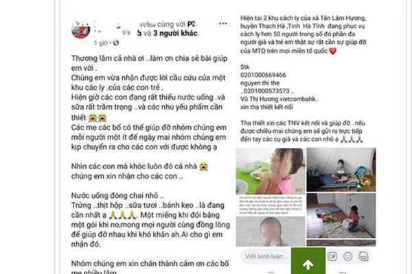 Hà Tĩnh: Facebooker bị phạt 5 triệu đồng vì xuyên tạc sai sự thật về khu cách ly