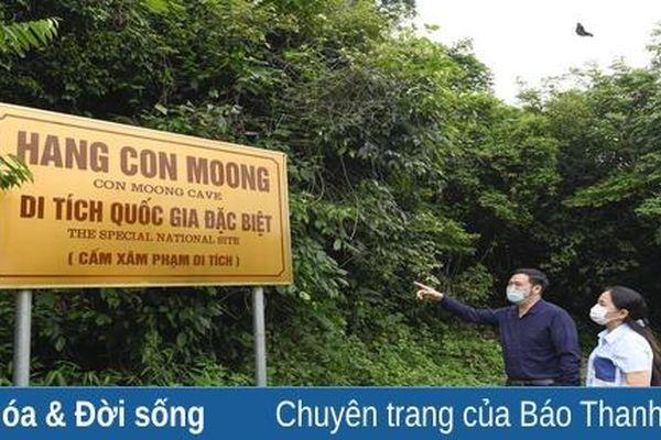 Mời chuyên gia hỗ trợ khảo sát, đánh giá khả năng đề cử di tích Hang Con Moong là di sản thế giới