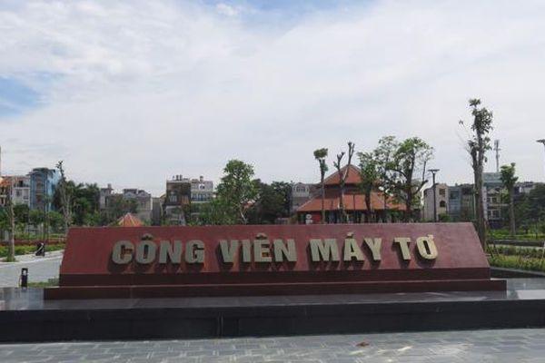 Khắc phục sự cố thi công Công viên Máy Tơ - Hải Phòng trước khi chính thức bàn giao cho thành phố
