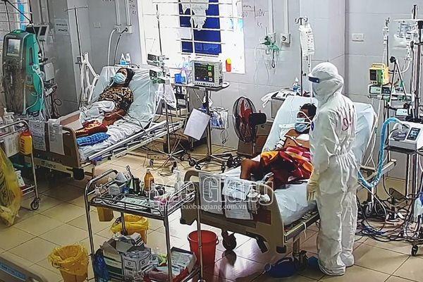 Bắc Giang: Bệnh nhân nặng nhất Trung tâm ICU đã cai được máy thở
