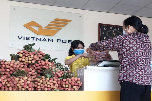 Công đoàn Bưu điện tỉnh triển khai bán vải thiều không lợi nhuận