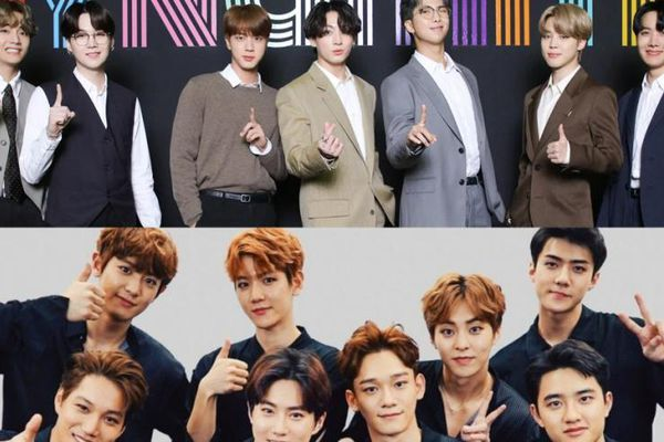 EXO tiến quân thần tốc đứng vững ở top 2 trong bảng xếp hạng thương hiệu tháng 6