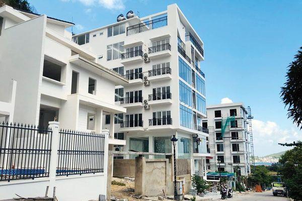 Tái diễn tình trạng bát nháo xây dựng biệt thự tại Khánh Hòa