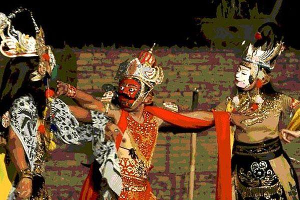 Wayang topeng - điệu múa độc đáo của xứ vạn đảo