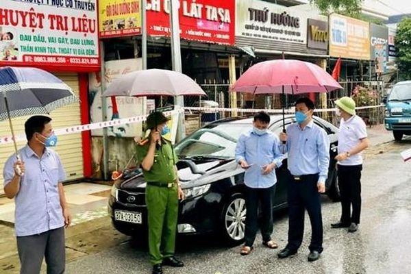 Hà Tĩnh: Phong tỏa tạm thời 2 thôn và 1 phần tổ dân phố có ca bệnh COVID-19 ở Hương Sơn