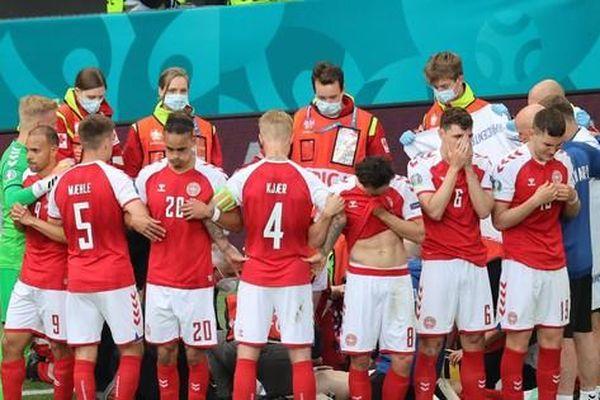 Cầu thủ Đan Mạch đột quỵ trên sân: Lộ diện 'người hùng' giúp Eriksen không bị nuốt lưỡi