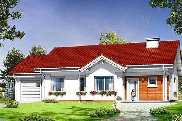 Hai mẫu nhà cấp 4 'đẹp long lanh' với chi phí xây dựng 250 triệu, 4 người ở thoải mái