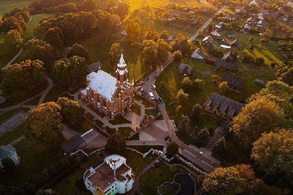 Vẻ đẹp tuyệt mỹ của Lithuania dưới ống kính máy bay không người lái
