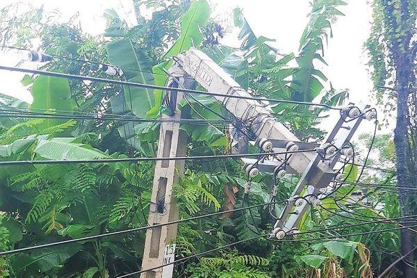 Công ty Điện lực Thanh Hóa khắc phục sự cố lưới điện do bão số 2 gây ra