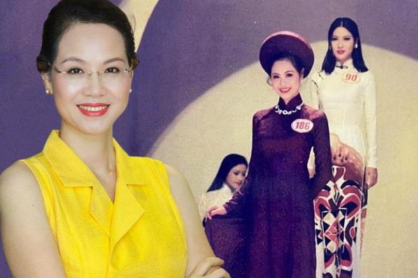 Á hậu 1 Việt Nam năm 1996: Sinh viên ĐH danh giá từng phải thi lại 2 môn, quyết tâm học tập và vị trí giám đốc công ty tỷ đô