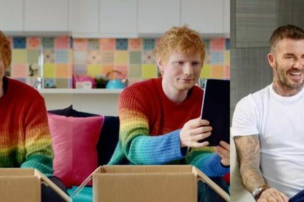 Ed Sheeran hát live ủng hộ giải đấu EURO tại sân nhà của câu lạc bộ bóng đá yêu thích