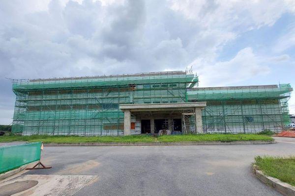 Các tòa nhà tại Depot, tuyến metro số 1 đang dần hoàn thiện