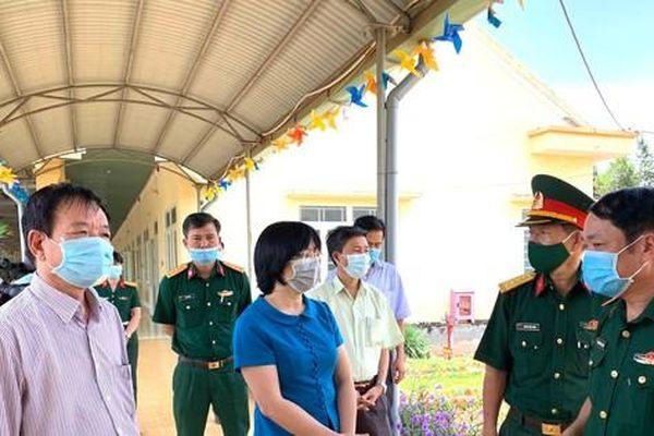 Gia Lai lên kế hoạch lập bệnh viện điều trị COVID-19 ở vùng biên với Campuchia