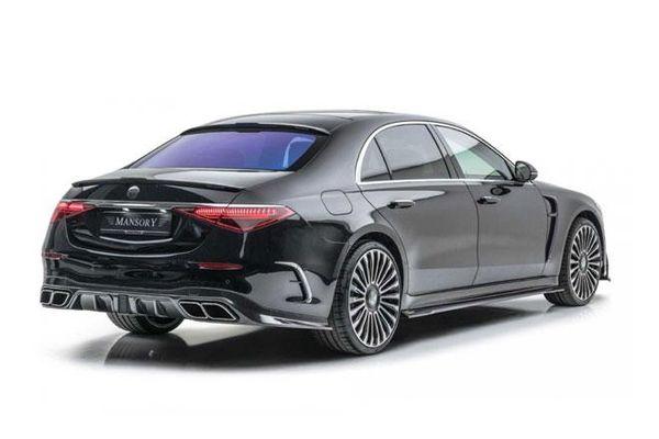 Đã mắt với Mercedes-Benz S-Class 2021 độ Mansory
