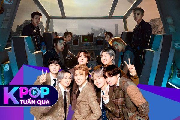Kpop tuần qua: EXO càn quét BXH với Don't Fight The Feeling, BTS rục rịch ra album hậu comeback Butter