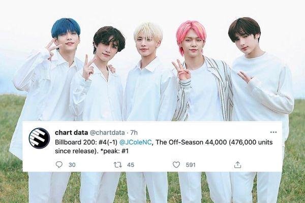 Đàn em của BTS tiến thẳng vào top 5 Billboard 200: Còn ai dám chê flop không nào?