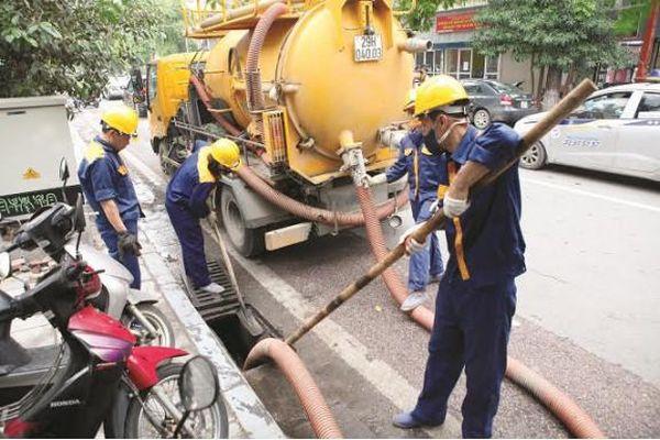 Hà Nội: Chủ động các giải pháp chống úng ngập mùa mưa