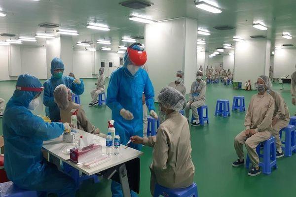 TP.HCM phát hiện thêm công nhân ở hai khu công nghiệp dương tính