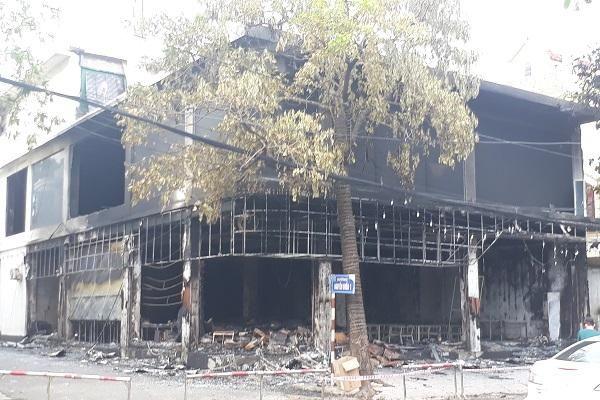 Hiện trường vụ cháy kinh hoàng khiến 6 người thiệt mạng tại TP Vinh